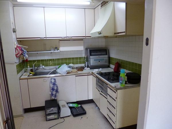 キッチン UB 洗面台 リフォーム 川崎 マンション