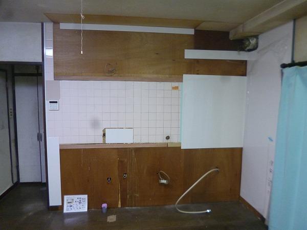多摩区 キッチン リフォーム クリンレディ フロアタイル