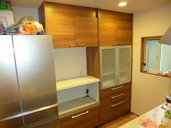 カップボード キッチン リフォーム パナソニック 設置 取付 施工
