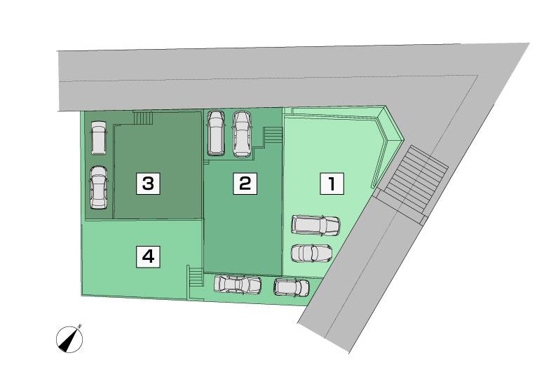西成瀬区画図